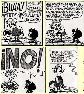 conciencia gremial mafalda